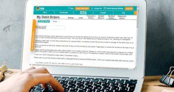 disputed debit orders