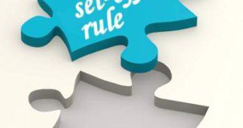 set-off rule