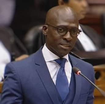 Finance Minister Malusi Gigaba