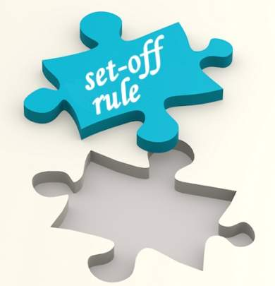 set-off rule