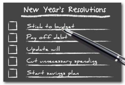 Sticking to those financial resolutions in the New Year