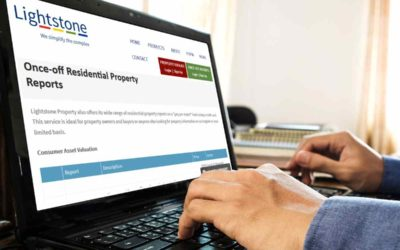 Online service to value property and vehicles