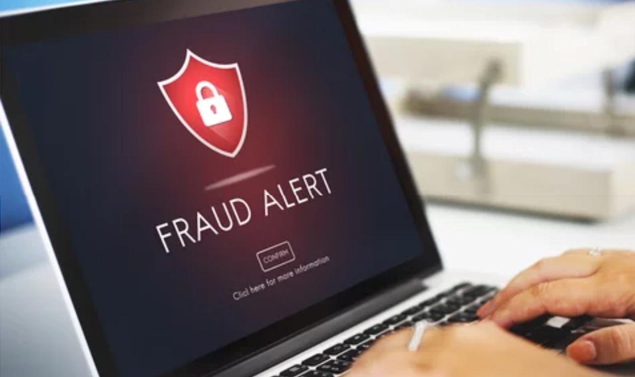 Beware: fraudsters are everywhere
