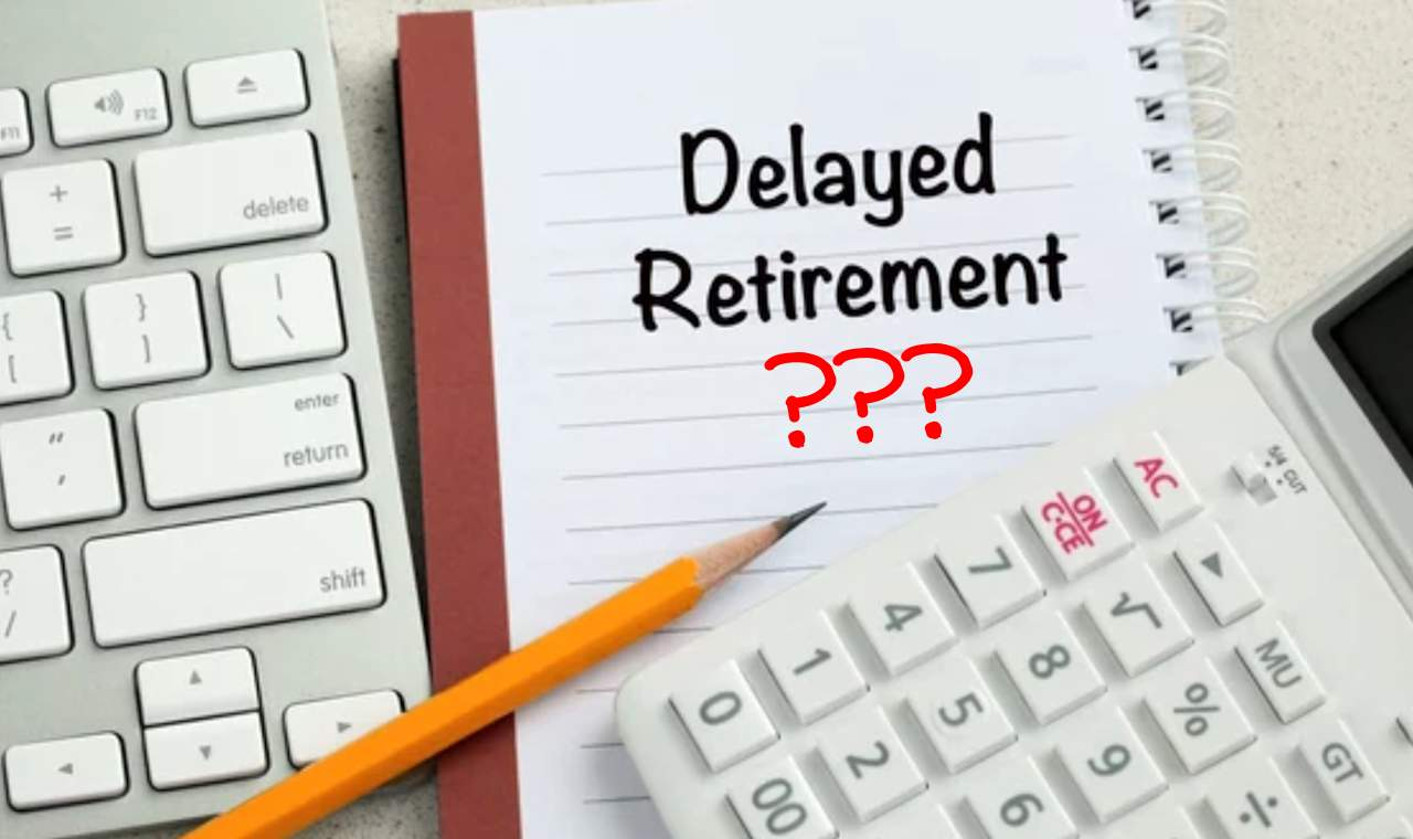 The effects of delaying your retirement