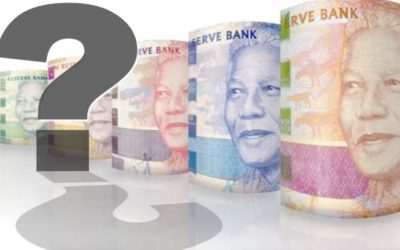 How will the recent looting affect the rand?